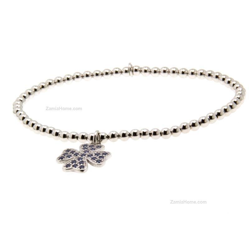 Any G Tiffany Bracelet Quatrefoil