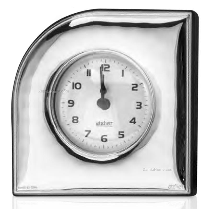 Orologio da tavolo atelier cm 95 h 95 legno argento for Orologio da tavolo legno