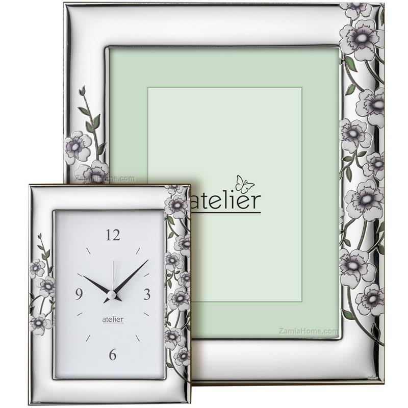 Portafoto maylea atelier cm 10x15 - decorato portafoto argento ...
