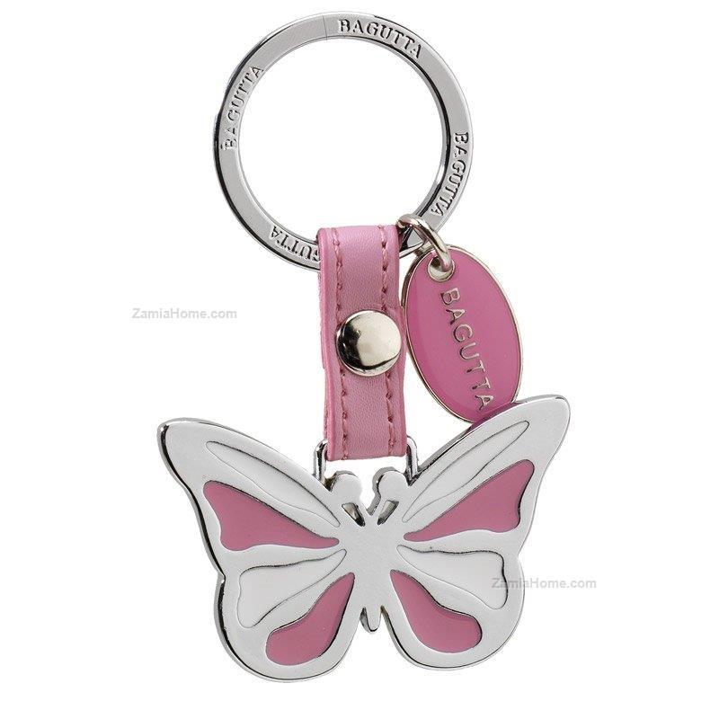 Portachiavi Farfalla Bagutta Libert Portachiavi Acciaio