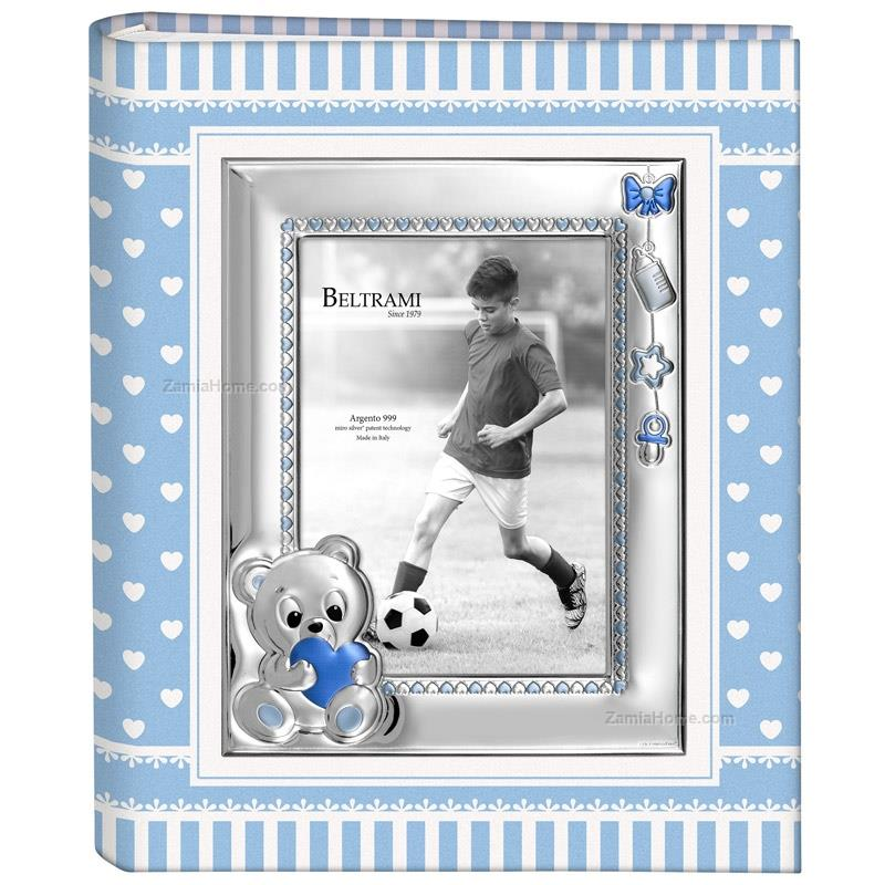 Baby photo album teddy bear