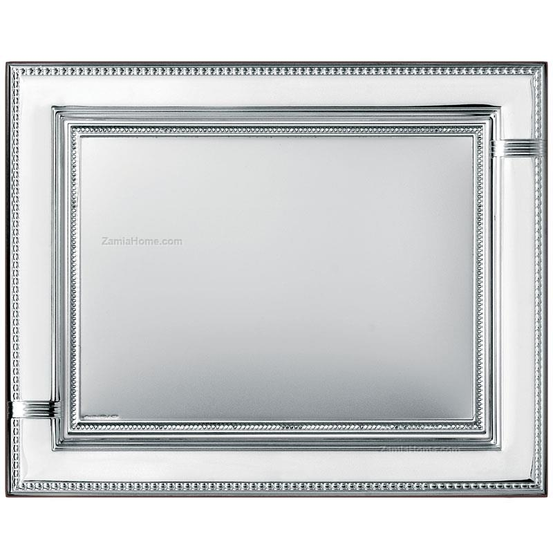 Picture frame with plate