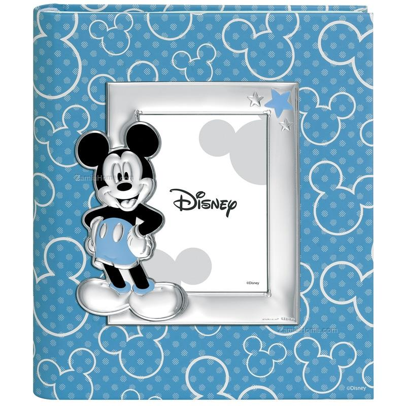 Photo album with frame mickey mouse
