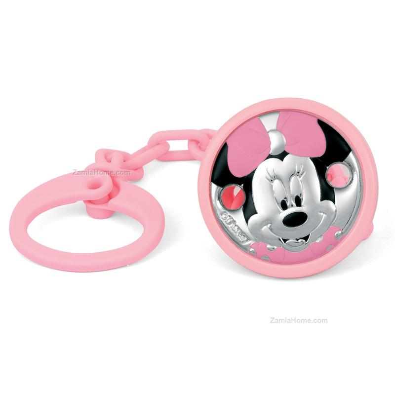 Rubber nipple brooch minnie mouse