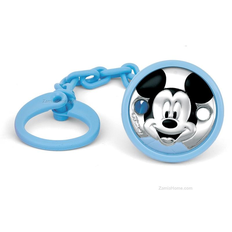 Rubber nipple brooch mickey mouse