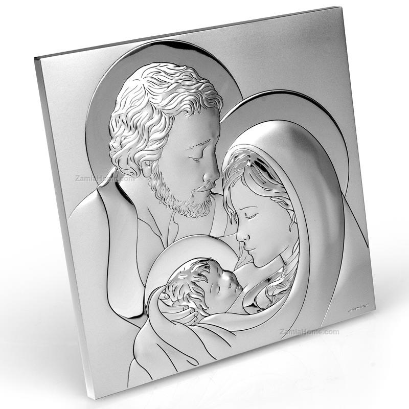 Squared icon holy family