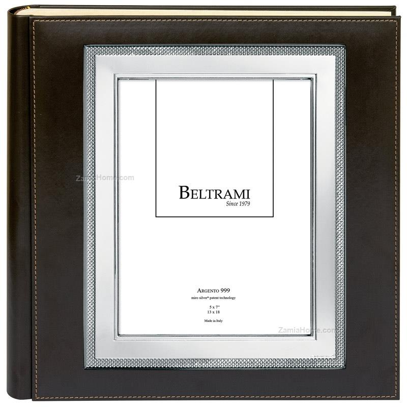 Photo album texture beltrami cm 35x35 - frame 13x18 leather photo ...
