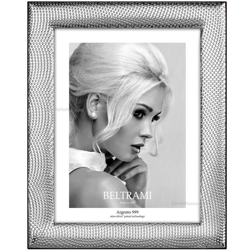 Portafoto optical beltrami cm 13x18 portafoto argento for Cornici 13x18