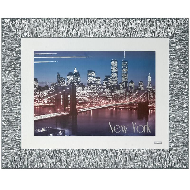 Printed picture brooklyn bridge