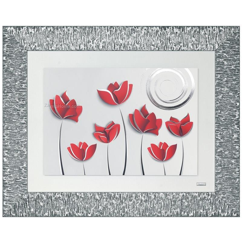 Printed picture tulips