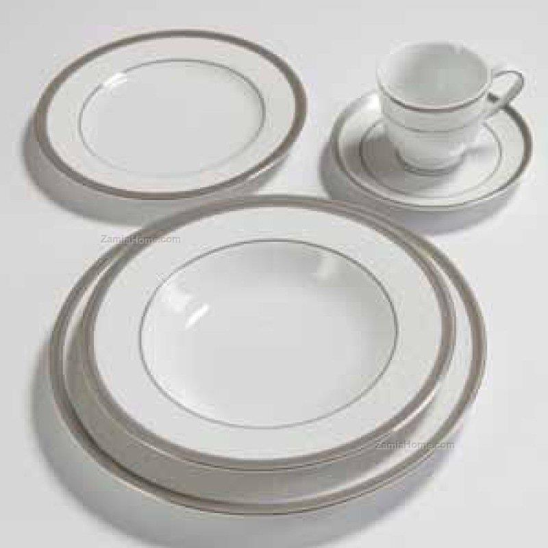 Tea set versailles platinum