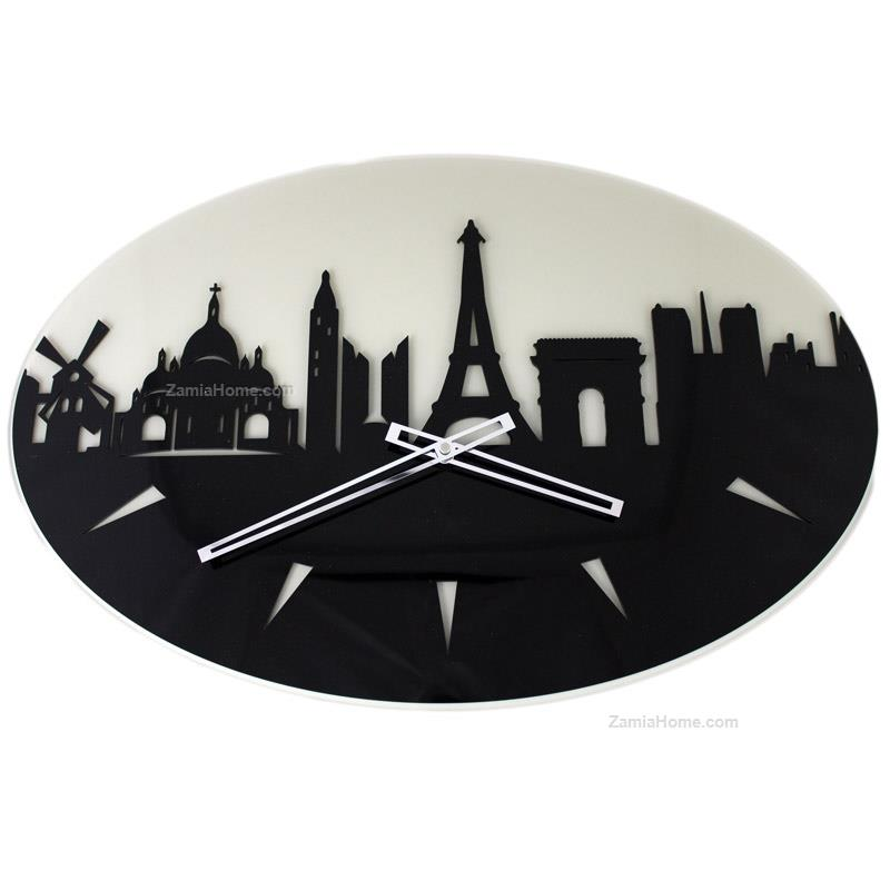 Wall clock paris
