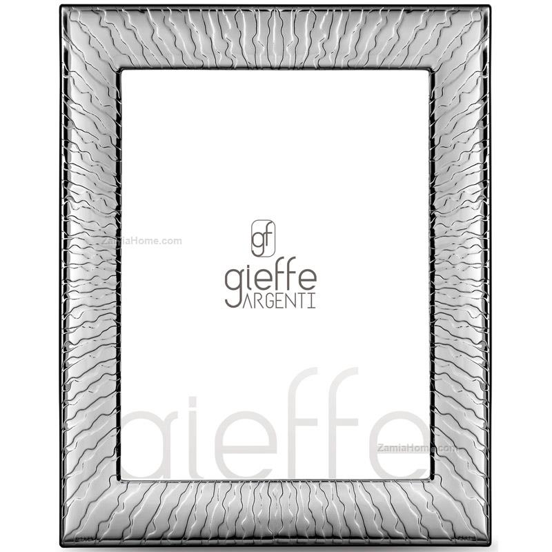 Photoframe funky gieffe argenti cm 10x15 double silver plate ...