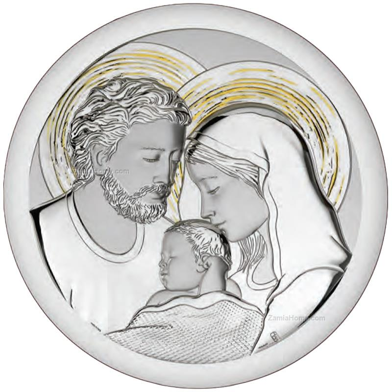Round holy family