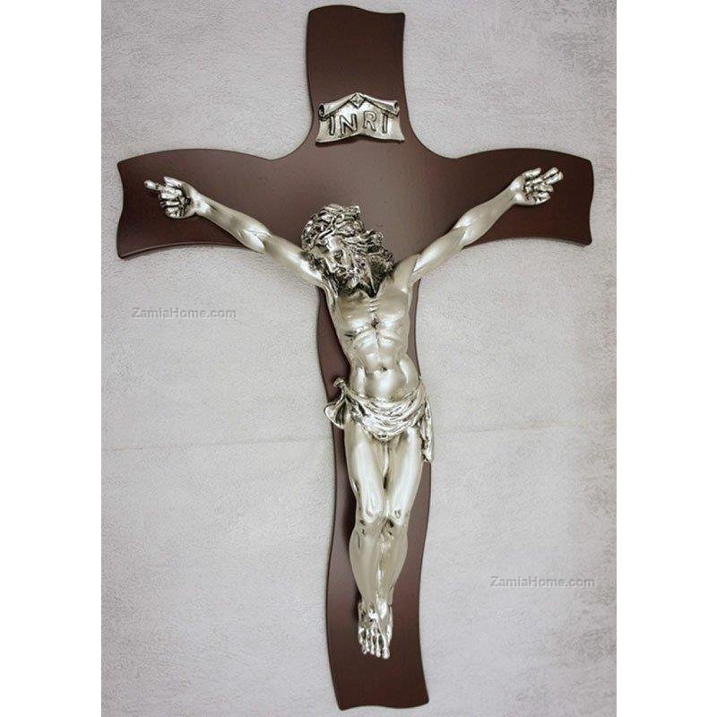 Christ on wooden cross