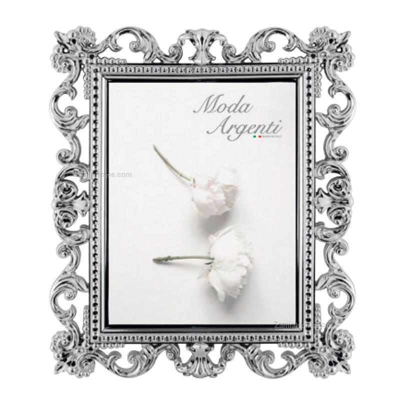 Cornice monet moda argenti cm 10x15 argento resina for Cornici 15x20