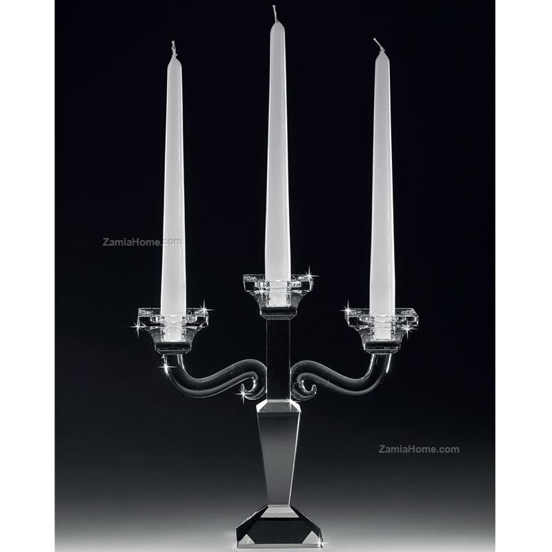Three flames candleholder