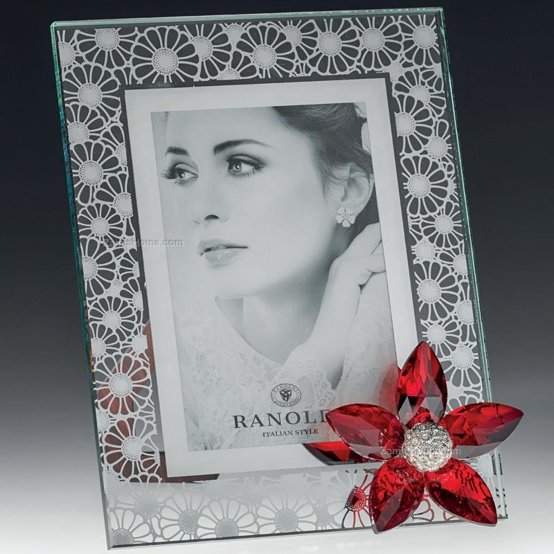 Photoframe with flower