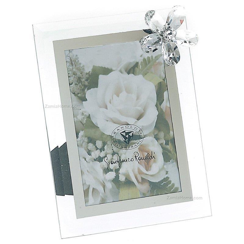 Cornice ranoldi cm 15x20 fiore cristallo rac2131 cornici for Cornici 15x20