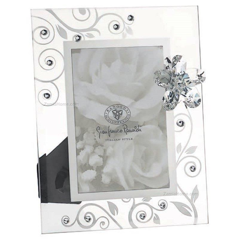 Glass picture frame ranoldi cm 10x15 - flower with flower rac3052 ...