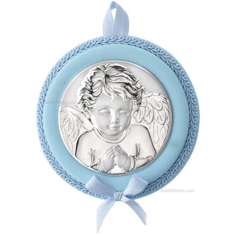 Cradle medallion angel