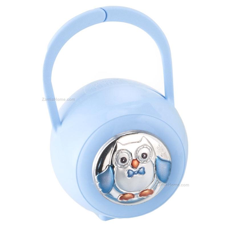 Rubber nipple case owl