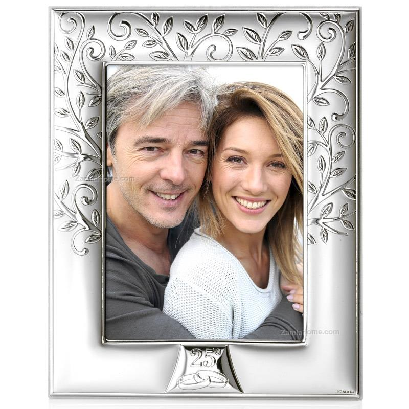 Photoframe silver wedding