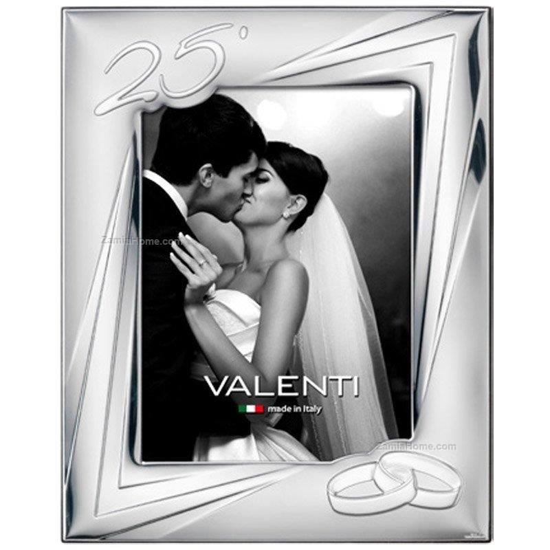 Cornice anniversario valenti co cm 13x18 25 cornice for Cornici 13x18