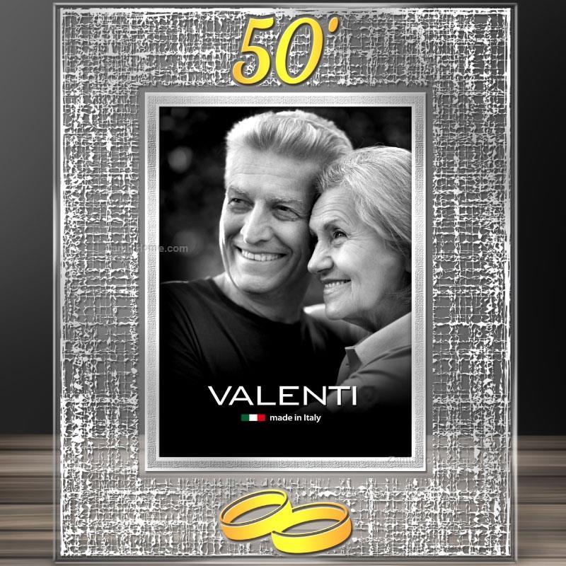 Anniversary picture frame valenti & co. cm 10x15 - golden wedding ...