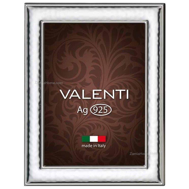 Cornice in argento valenti & co. cm 10x15 cornice argento 925 fascia ...