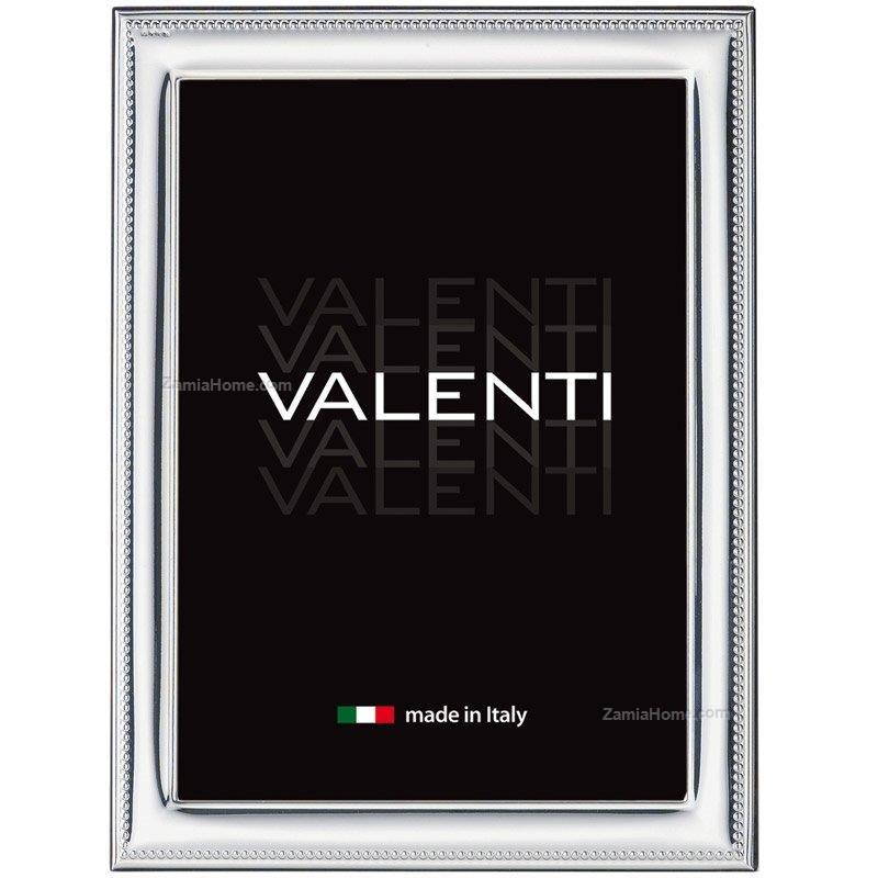 Cornice decoro valenti & co. cm 20x30 bilaminata argento retro ...