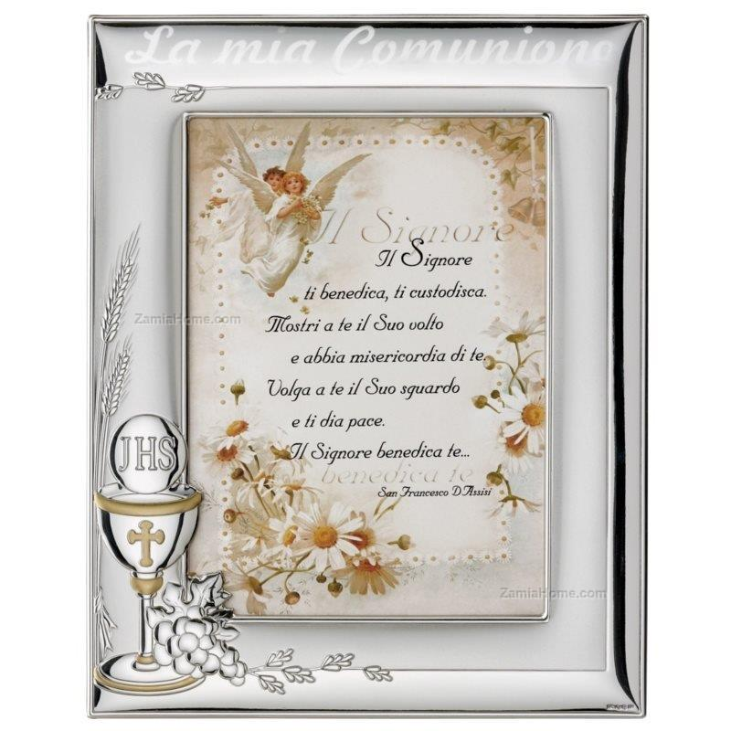 Picture frame valenti & co. cm 10x15 holy communion with text wooden ...
