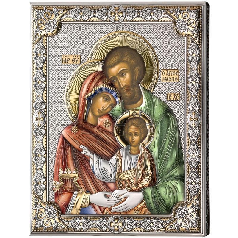 Valenti Co Icona Bizantina Sacra Famiglia Vl853133lcol