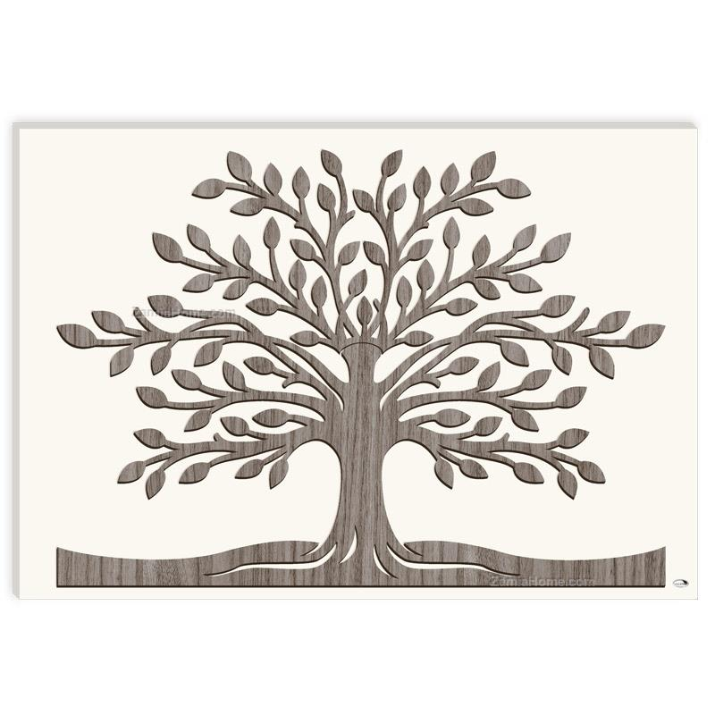 Wall panel tree of life