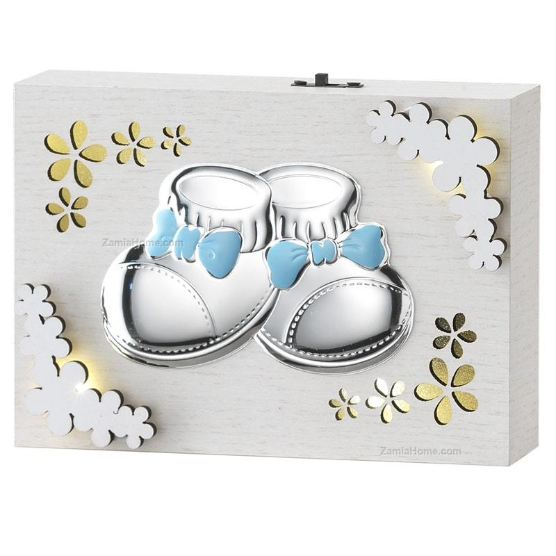 Light panel baby shoes