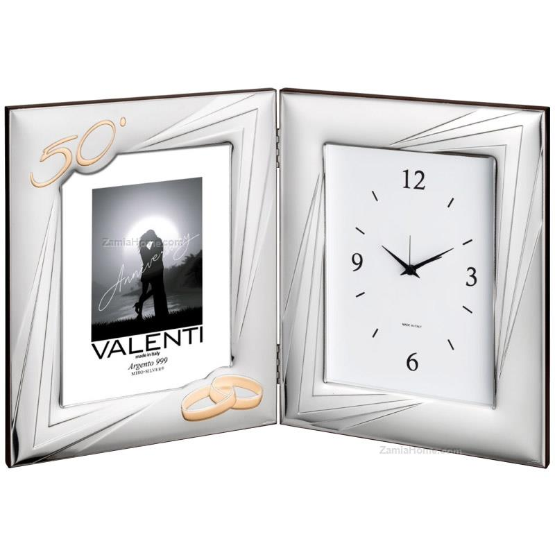 Photoframe with clock anniversary