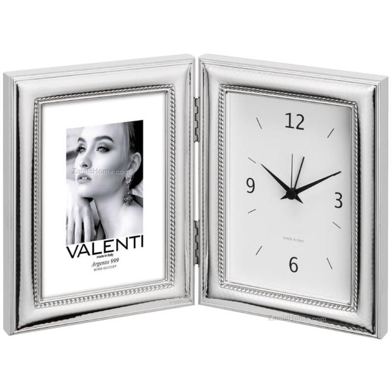 Photoframe with clock cordoncino
