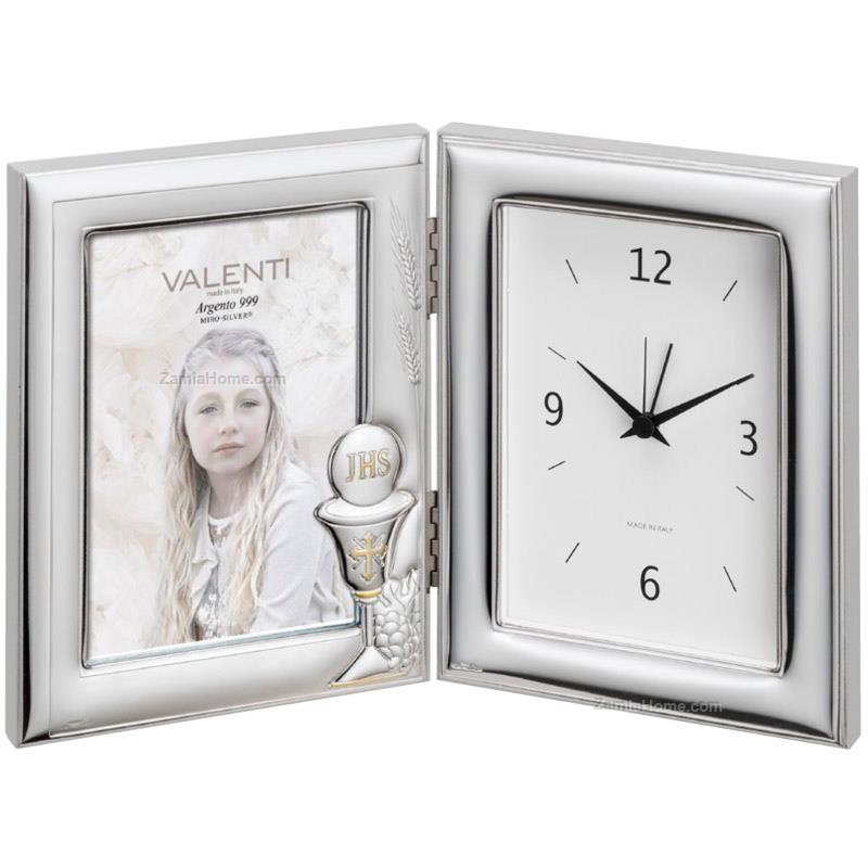 Photoframe with clock communion