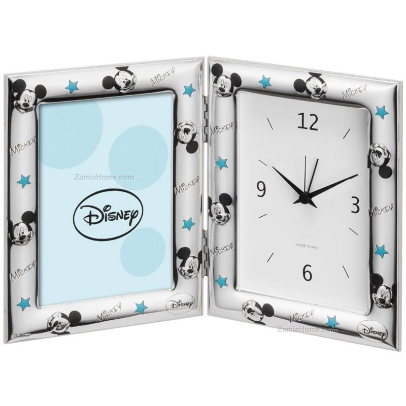 Photoframe with clock mickey mouse
