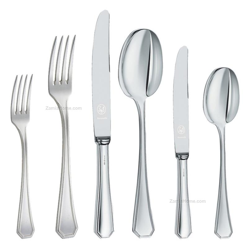 Cutlery complete set octagonal style