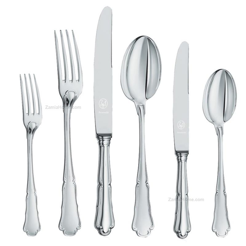 Cutlery complete set baroque style